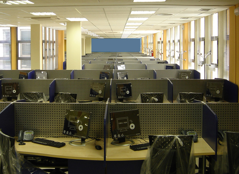 Mobiliario para Call Centers